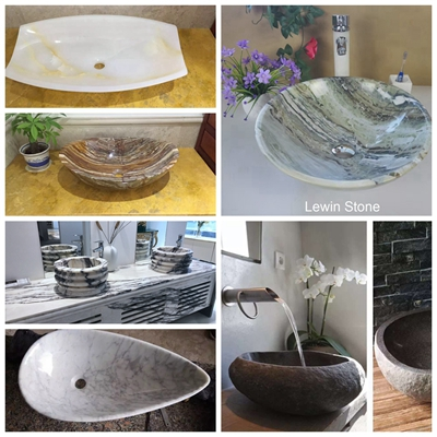 White Marble Basin &Sinks