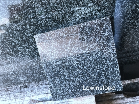 Polished Green Granite Slabs Tile