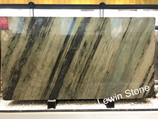 Luxury Pure Light Green  Marble
