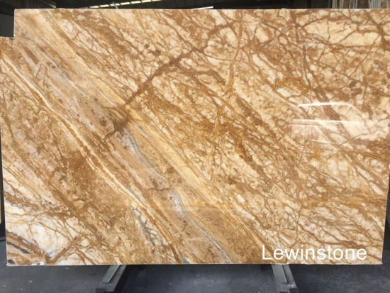 Golden forest Marble Slabs