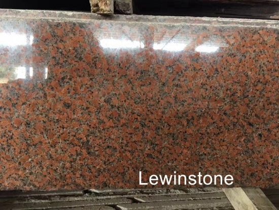 maple red granite china