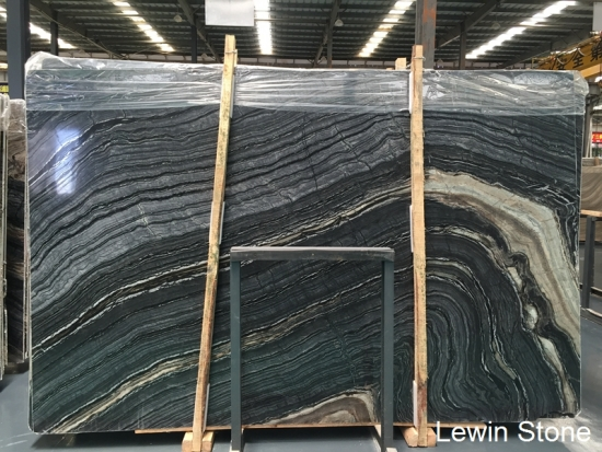 Silver Wave Marble Slabs Tiles